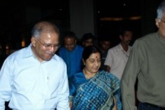 Swaraj Takes Up  Lanka PM's Threat to Shoot Indian Fishermen