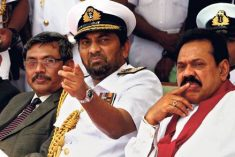 Sri Lanka's ex-navy chief Karannagoda faces arrest for murder