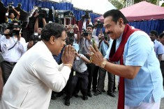 SLFP which hasn't take any action on Rajapkasa group wants TNA to act against Wigneshwaran