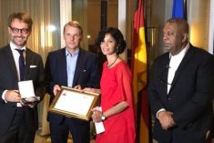 Sri Lankan human rights activist Shreen Saroor gets Franco-German award