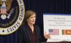 President Sirisena's Administration Has Made Extraordinary Progress – Samantha Power