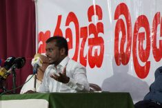 Behaviour of the  Executive President is unacceptable and has to be abolished. – Saman Rathnapriya