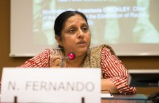 Sri Lanka: I speak with sadness as  the transitional justice agenda being placed on the back burner