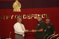 Sri Lanka Police be placed under the Ministry of Defence at all times.- Military report reject LLRC Recommendations