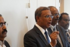 TNA Lobbying in Geneva for Release of UN Report on SL War Crimes