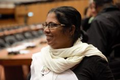 STANDING TALL: Sandhya, Lanka's First Lady of courage