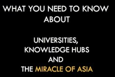 The 'Miracle of Asia' and Higher Education