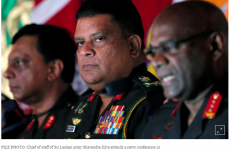 U.N. suspends Sri Lankan troops from peacekeeping over army chief appointment