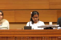 Statement by LTTE Leader Pulithevan's Wife at UNHRC 29, Side Event