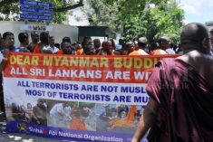 Extremist Sri Lanka Buddhist monks attack UN-protected Rohingya refugee houses