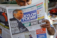 Road-map to Reconciliation: 4 Challenges for Sri Lanka After Polls  –  Erik Solheim and Mark Salter