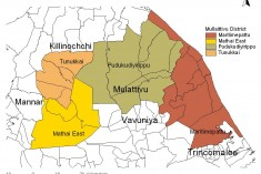 SL forces attack, throw dirt at people demanding resettlement in Mullaiththeevu (Mullaitivu)