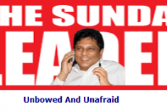 The story of Sunday Leader, Sunil Jayasekara and Frederica Janz