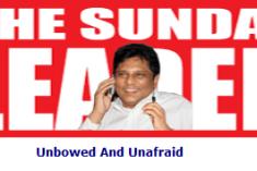 The story of Sunday Leader, Sunil Jayasekara and Frederica Janz