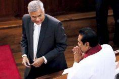 Sri Lanka:  Ranil, Sampanthan reach out to Mahinda
