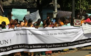 Sri Lanka: N & E Coordinating Committee wants UN to be a direct partner of the TJ process