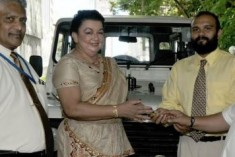 Sri Lanka: Siriliya Saviya Red Cross Jeep Involved in Crimes?