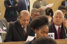 Resolution co-sponsored by Sri Lanka passed by consensus at UNHRC