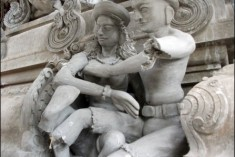 Saiva temple sculptures smashed in Trincomalee