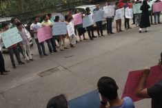 Prez Siriena's recent actions are shocking says students of South Asian University, New Delhi