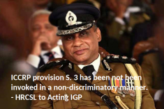 Sri Lanka HRC writes to IGP: Limiting freedom of expression in a democracy needs to strike a lawful balance.
