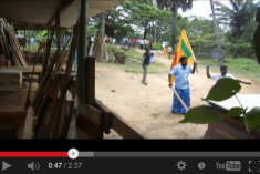 Video: Official sanction and Police complicity in Politcal violence against TNA in Kilinochchi