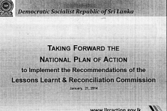 The Lalith Weeratunga Presentation ( and its  lacuna )