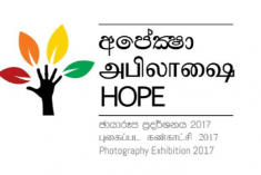 "Sri Lanka: Entries to be called for ""Hope"", a photographic exhibition"