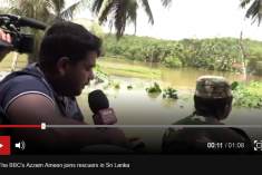 Sri Lanka floods: Nearly 500,000 displaced as death toll rises