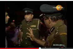 Protecting violent protesters and dispersing peaceful protesters: New role for Police and some Buddhists in Sri Lanka?