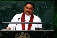 Sri Lanka president uses U.N. speech to assail war crimes probe