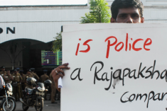 Journalists Rally in Colombo Over Media Restrictions Ahead of Election