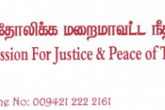 Sri Lanka:  Resolve  the basic unresolved issues of Tamils instead of external development – Jaffna Catholics