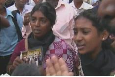 Sri Lanka arrest for missing son's campaigning mother