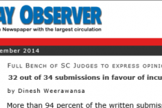Supreme Court Opinion on 3rd Term Leaked to State Media
