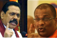 President Rajapaksha and Extremist BBS launch joint attack on former Pre. Kumaratunga's Religious Harmony Campaign