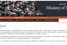 Sri Lanka: Military warns the general public of propagating misinformation & hate