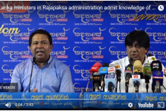 Sri Lanka: Former ministers admit to killing those who surrendered to the Army (video)