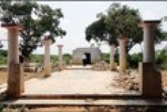 Unique temple of Tamil folk heritage found destroyed, desecrated in HSZ in Jaffna