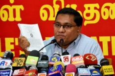 Sri Lanka: JVP to oppose 'Counter Terrorism Bill'; says PTA should be abolished.