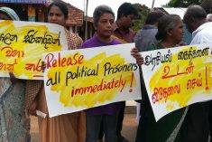 Tamil political prisoners in Sri Lanka: Sampanthan sets the record straight