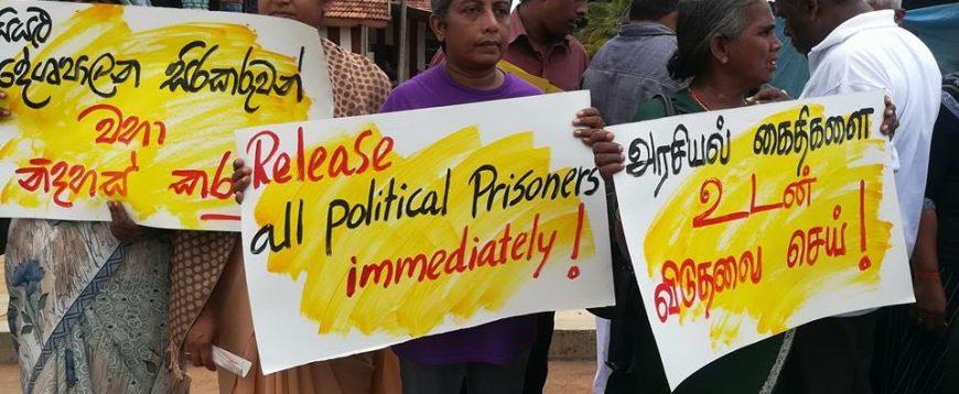 Tamil political prisoners in Sri Lanka: Sampanthan sets the record straight