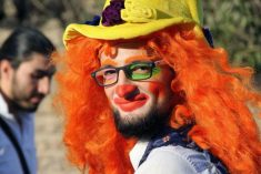 Clown of Aleppo 'dies in air strike' as Syrian government closes in on besieged city