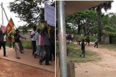 SL military operatives attack TNA parliamentarians in Ki'linochchi