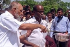Sri Lanka: Wigneswaran Takes Part In Remembrance Event In Mullivaikkal