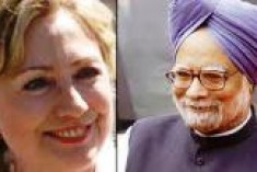 SL peace process to be expedited, Clinton and Singh agree to work closely