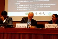 "Challenges of Transitional Justice in Sri Lanka"", UN Human Rights Council Must Stay Engaged"