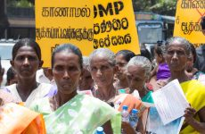 Sri Lanka: President Sirisena sings the Office on Missing Persons (OMP) Act.