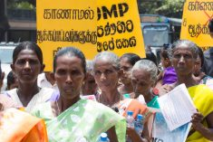 The Undeterred Journey for the Missing  in Sri Lanka – Mangala Samaraweera