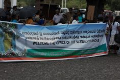 Sri Lanka: Office of Missing Persons to be operational from 15th this month.